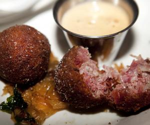 balls, food, and pastrami image