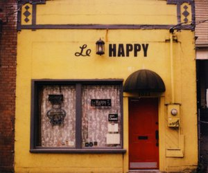 happy, photography, and yellow image