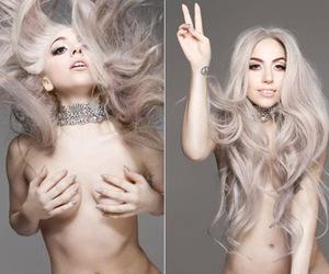 hippie, Vanity Fair, and Lady gaga image