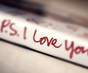 love, book, and ps i love you image