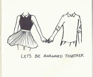love, awkward, and couple image