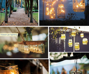 romantic, wedding inspiration, and outdoor chandeliers image