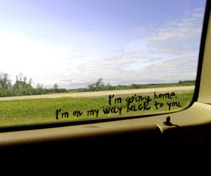home, quote, and window image