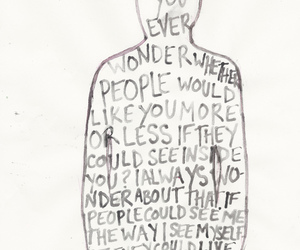 quote, john green, and inside image