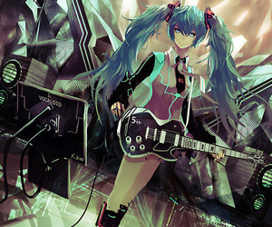 miku, anime, and vocaloid image