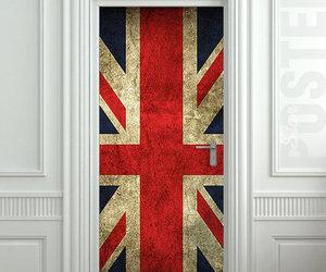 door, british, and white image