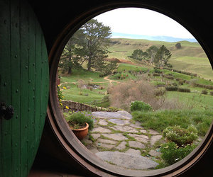 hobbit, green, and nature image