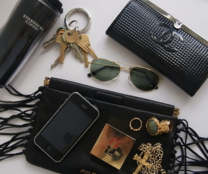 chanel, iphone, and starbucks image