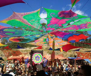 cape town, festival, and psytrance image