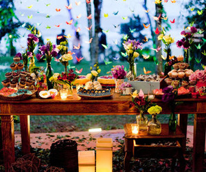 party and table image