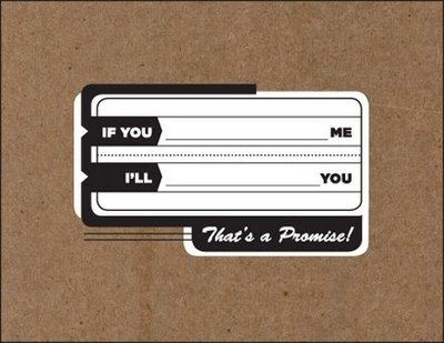 card, label, and text image