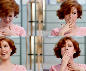 Claire, Molly Ringwald, and The Breakfast Club image