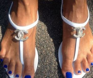 chanel, sandals, and beautiful image