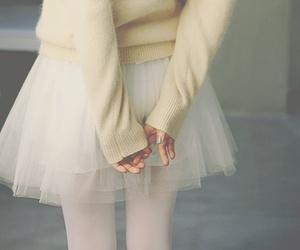 girl, ballet, and skirt image