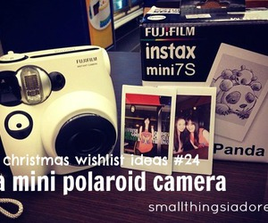 camera, wishlist, and christmas list image