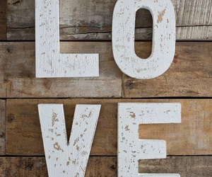 love and wood image