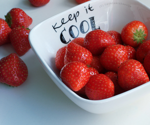 strawberry and photography image