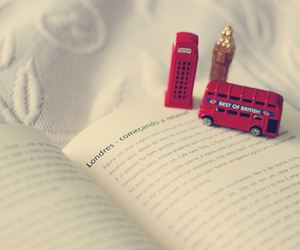 book, london, and vintage image