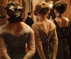 vintage, downton abbey, and dress image
