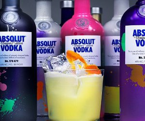 absolut, drink, and vodka image