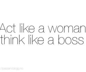 boss, woman, and text image