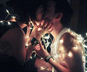 couple, kiss, and photography image