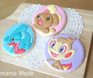 Cookies, icing, and pokemon image