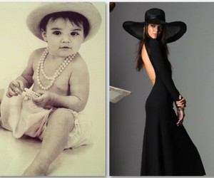 baby, hat, and model image