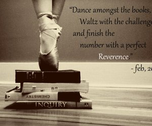 ballet, books, and classy image