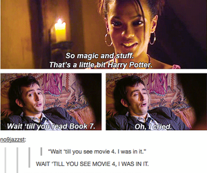 harry potter, book, and david tennant image