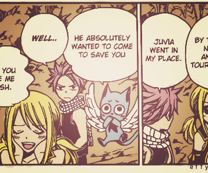 fairy tail, natsu, and lucy heartfilia image