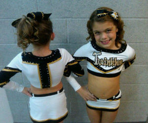 black, cheer, and cheerleader image