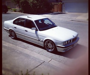 e34, white e34, and bmw e34 image