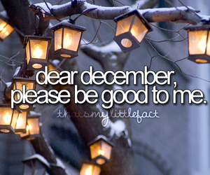 december, quote, and fact image