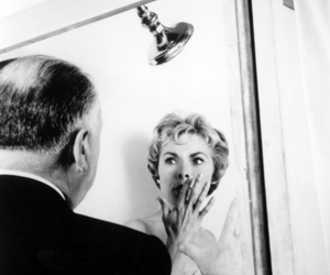 alfred hitchcock, Psycho, and set image