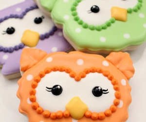owl, food, and Cookies image
