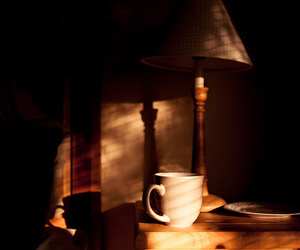bedroom, cup, and design image