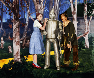 judy garland and The wizard of OZ image