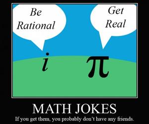 funny, joke, and math image