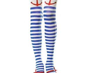 anchors, blue stripes, and navy image