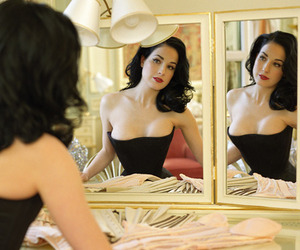 Dita von Teese, sexy, and Pin Up image