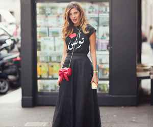 black, red, and streetstyle image