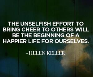 quote, helen keller, and life image