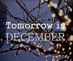 december, christmas, and tomorrow image
