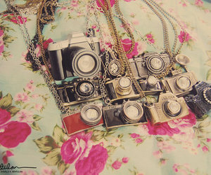 camera, photography, and necklace image