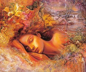Dream, flowers, and art image