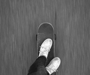skate, cool, and vans image