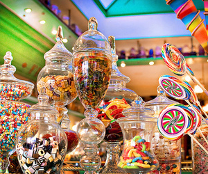 candies, yummy, and colors image