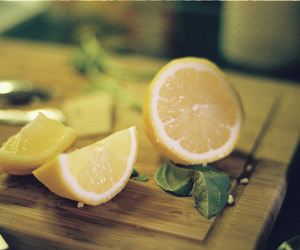 lemon, leaves, and photography image