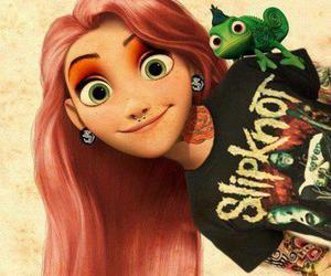 disney, rapunzel, and slipknot image